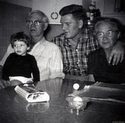 Daddy Bud, Carl and Lula Armstrong