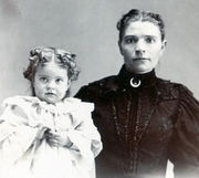 Malinda Jane Bennett and Gladys