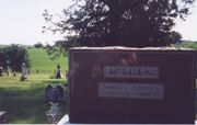 James & Jennie's Tombstone