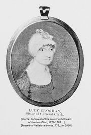 Daughter: Mrs. Lucy (Clark) Crogan