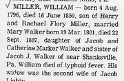 Obituary of William Henry Miller