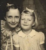 Ruth Fields and her niece, Freda Addison