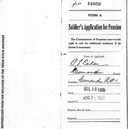 CSA pension file for P. L. Coker, page 1