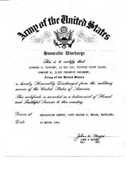 Ray-Honorable Discharge, pg1