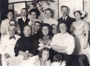 Dickens Family Group Abt. 1910