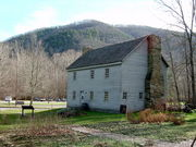 Sites Homestead built by Jacob Sites. Dorothy inherited this house from her husband William.