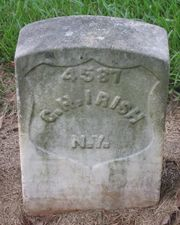 George Hadwin Irish Gravestone