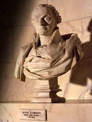 Bust of Ellsworth in the Supreme Court