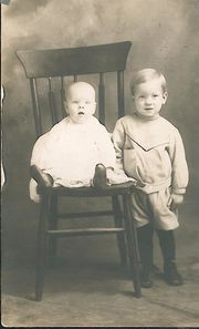Wilse and younger brother Walt
