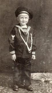 Roy E Stuckmeyer at 4 yrs. old
