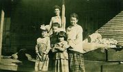 Susie Ashburn and Daughters: Thelma, Alice, Lucille, Ethel