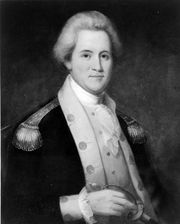John Sevier was influential in the transition from North Carolina wilderness to Tennessee statehood.
