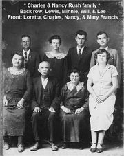 Charles and Nancy Rush Family