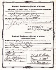 Richey/Tuttle Marriage License