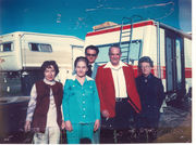 Lea, Vada, Noble Isbell, Connie Isbell Bradlley, & Russell Johnson