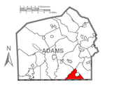 Germany Township is located in Adams County, PA, USA.