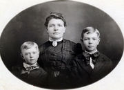 Malinda Jane Bennett and sons