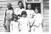 Will Ashburn Family Clockwise: Will, Susie, Thelma, Alice, Lucile, and Ethel