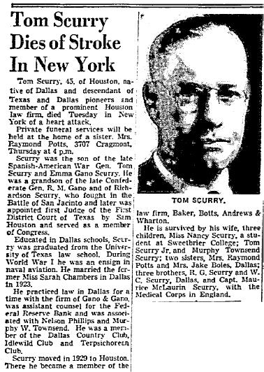 Dallas Morning News, 29 Mar 1944, p. 3