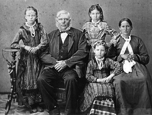 Seegers Family circa 1877