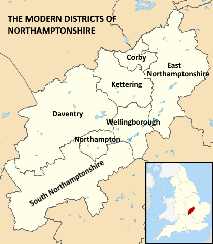 Image:419px-Northamptonshire UK district map (titled).png