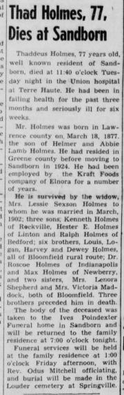 Linton (Indiana) Daily Citizen, 17 Mar 1954, p. 1