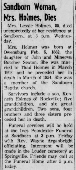 Linton (Indiana) Daily Citizen, 11 May 1967, p. 2