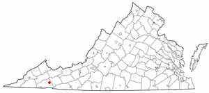 Image:GladeSpring Virginia on Map.PNG