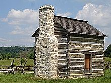 Image:Reconstruction of the Ingles Cabin.jpg