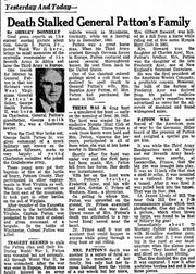 1970 article about Patton family deaths