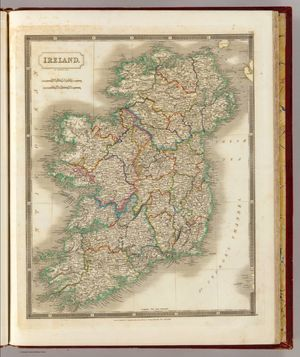 Ireland.  Sidney and Hall 1785.   Click for Presentation