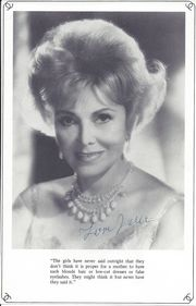 Jolie Gabor (date unknown)
