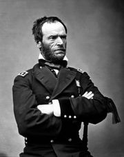 Husband: William Tecumseh Sherman, 1865.