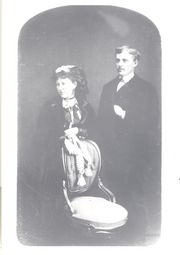 Thomas C Myers and Clara B Taber marriage photo