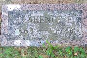 Tombstone of Clarence Eastman