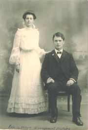 George and Adelle, 1905