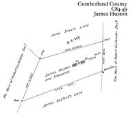James Huston's land in Cumberland County lay near Silver Spring Meetinghouse.