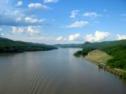 The Hudson River near Bear Mountain, NY, up which Henry Hudson sailed in 1609