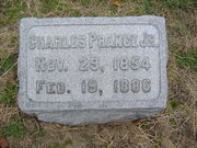 CHARLES PRANGE stone in family plot